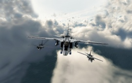 Fighter Flight Aircraft Military