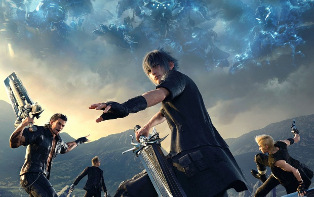 117 Final Fantasy Xv Hd Wallpapers: Final Fantasy XV Cover Art Wallpapers