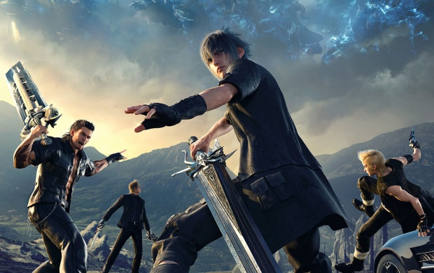 Final Fantasy XV Death Spell (click to view)