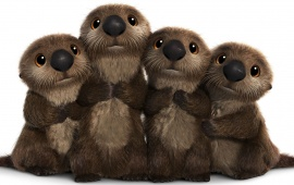 Finding Dory Otters