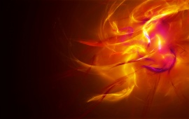 Fire Colors Abstract