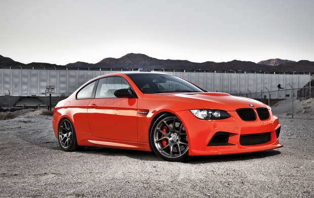 Fire Orange BMW M3 (click to view)