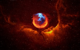 Blue Mozilla Firefox wallpapers | Blue Mozilla Firefox stock photos
