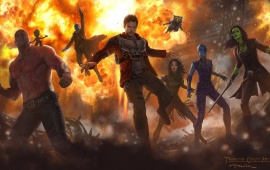 First Guardians Of The Galaxy Vol 2 Concept Art