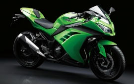 First Ride Kawasaki Ninja 300 2013