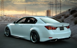 Five Axis Lexus GS