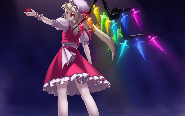 Flandre Scarlet Girl Wings (click to view)
