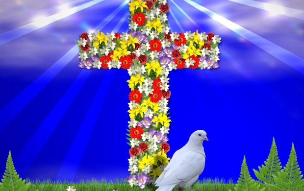 Flower Cross (click to view)