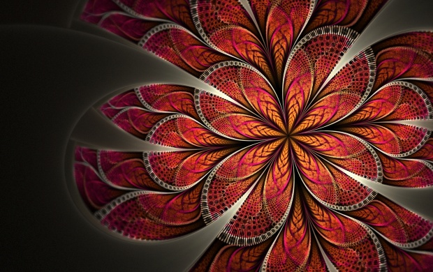Flower Pattern Abstract (click to view)
