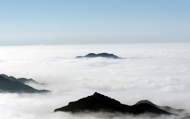 Fog on the High Hill Mountains (click to view)