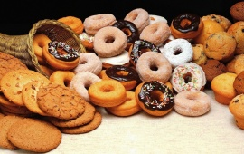 Food Cookies Donuts