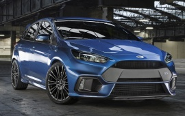 Ford Focus RS 2016 Front View