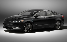 Ford Fusion Hybrid Energi 2017 Front