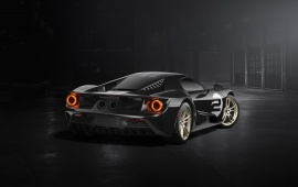 Ford GT 66 Heritage Edition 2017 Rear View
