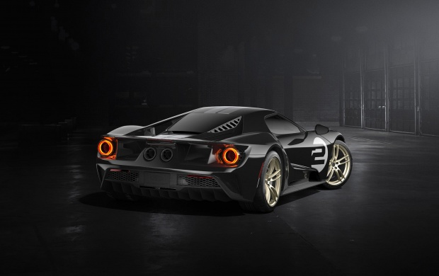 Ford GT 66 Heritage Edition 2017 Rear View (click to view)