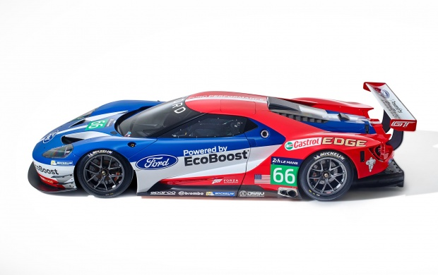 Ford GT Le Mans Racecar 2016 (click to view)