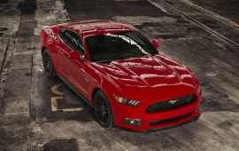 Ford Mustang EU Version 2015