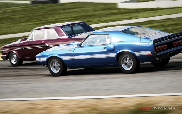 forza motorsport 4 american muscle dlc wallpapers