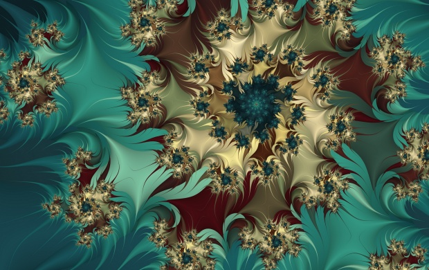 Fractal Flower Buds (click to view)