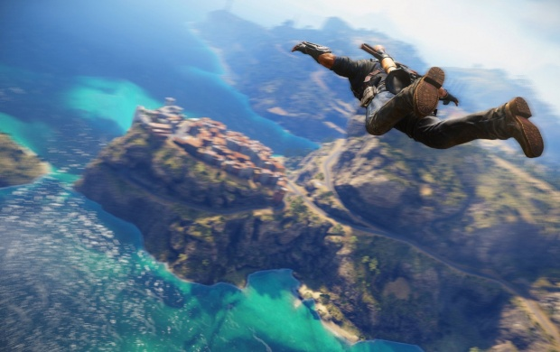 Free Fall Just Cause 3 (click to view)