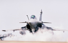 French Airforce Rafale Fighter Plane