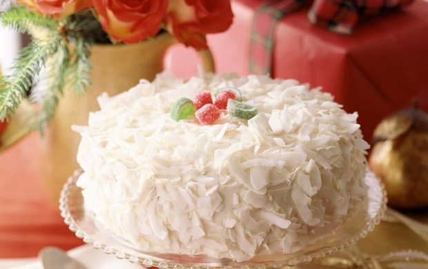Fresh Coconut Cake (click to view)
