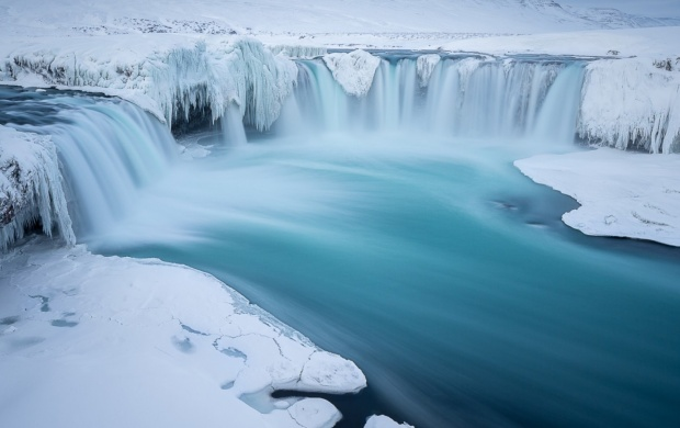 Frozen Waterfall (click to view)