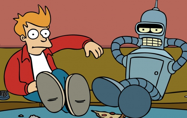 Fry And Bender (click to view)