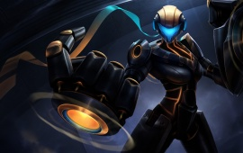 Full Metal Vi Skin League Of Legends