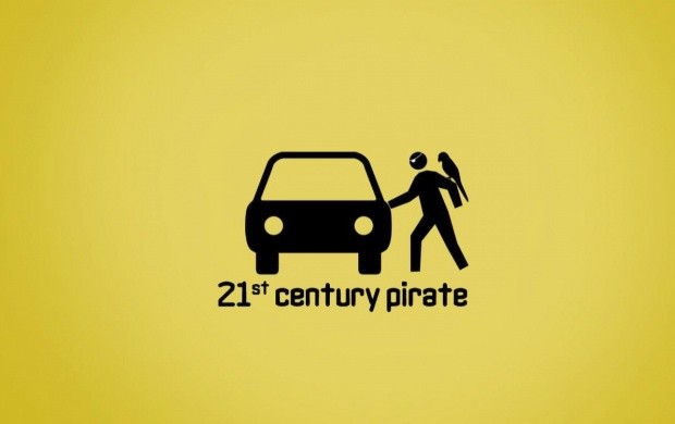 Funny 21st Century Pirate (click to view)