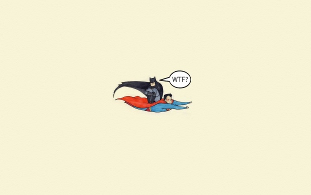 Funny Batman And Superman (click to view)
