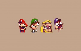 Funny Mario And Friends