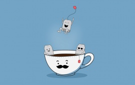 Funny Tea Bags Party