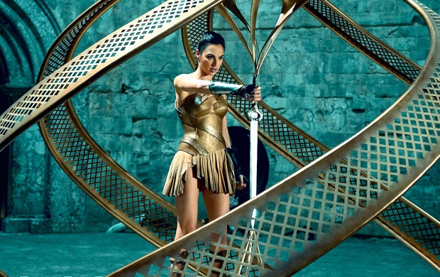 Gal Gadot As Wonder Woman (click to view)