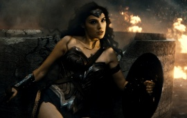 Gal Gadot As Wonder Woman Batman V Superman
