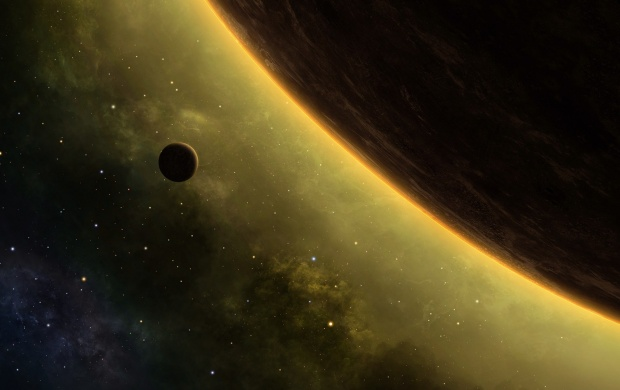Galaxy Planets Art (click to view)