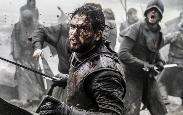 Game Of Thrones Battle Of The Bastards Jon Snow (click to view)