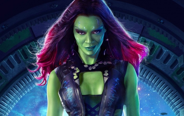 Gamora Guardians Of The Galaxy (click to view)