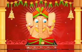 Ganesh Chaturthi Lord Ganesha Cartoon