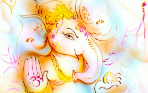 Ganesha Art (click to view)