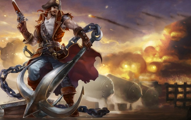 Gangplank League Of Legends (click to view)