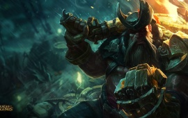 Gangplank New Splash League Of Legends