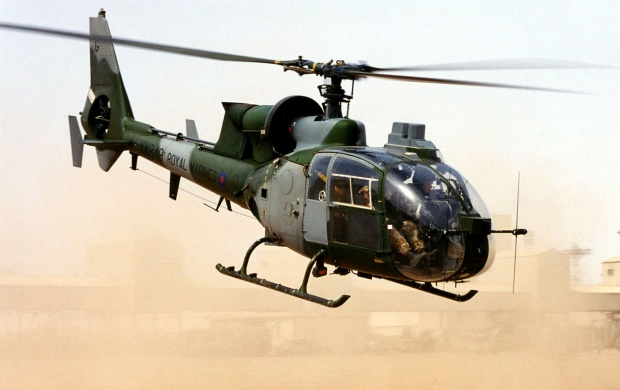 Gazelle Helicopters (click to view)