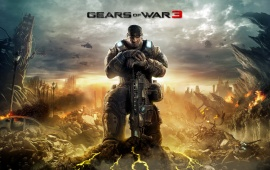 Gears Of War 3 Shooter Video Game