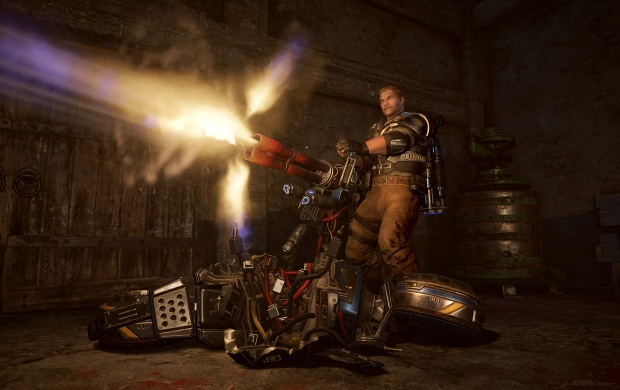 Gears Of War 4 Screenshot JD Trishot (click to view)
