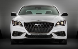 Genesis G80 Sport Front View 2018