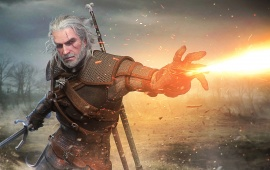 Geralt Of Rivia The Witcher 3 Game Art