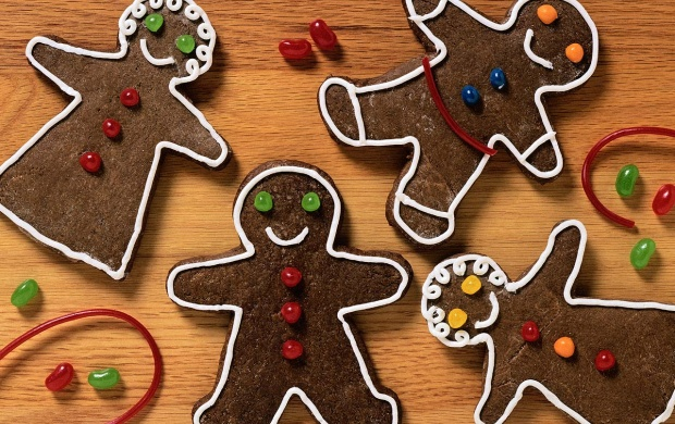 Gingerbread Women And Men (click to view)