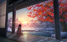 Girl Contemplating