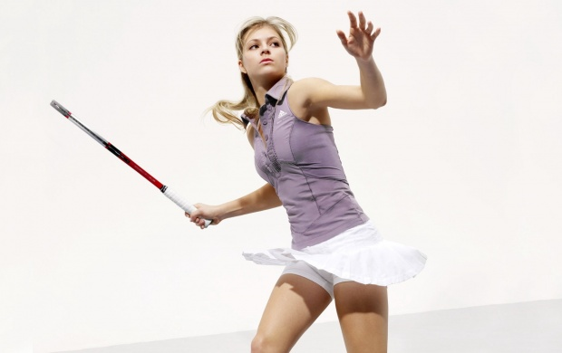 Girl Playing tennis (click to view)